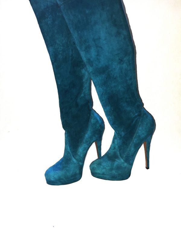 buty-niebieskie