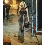 suknia czarna dluga
